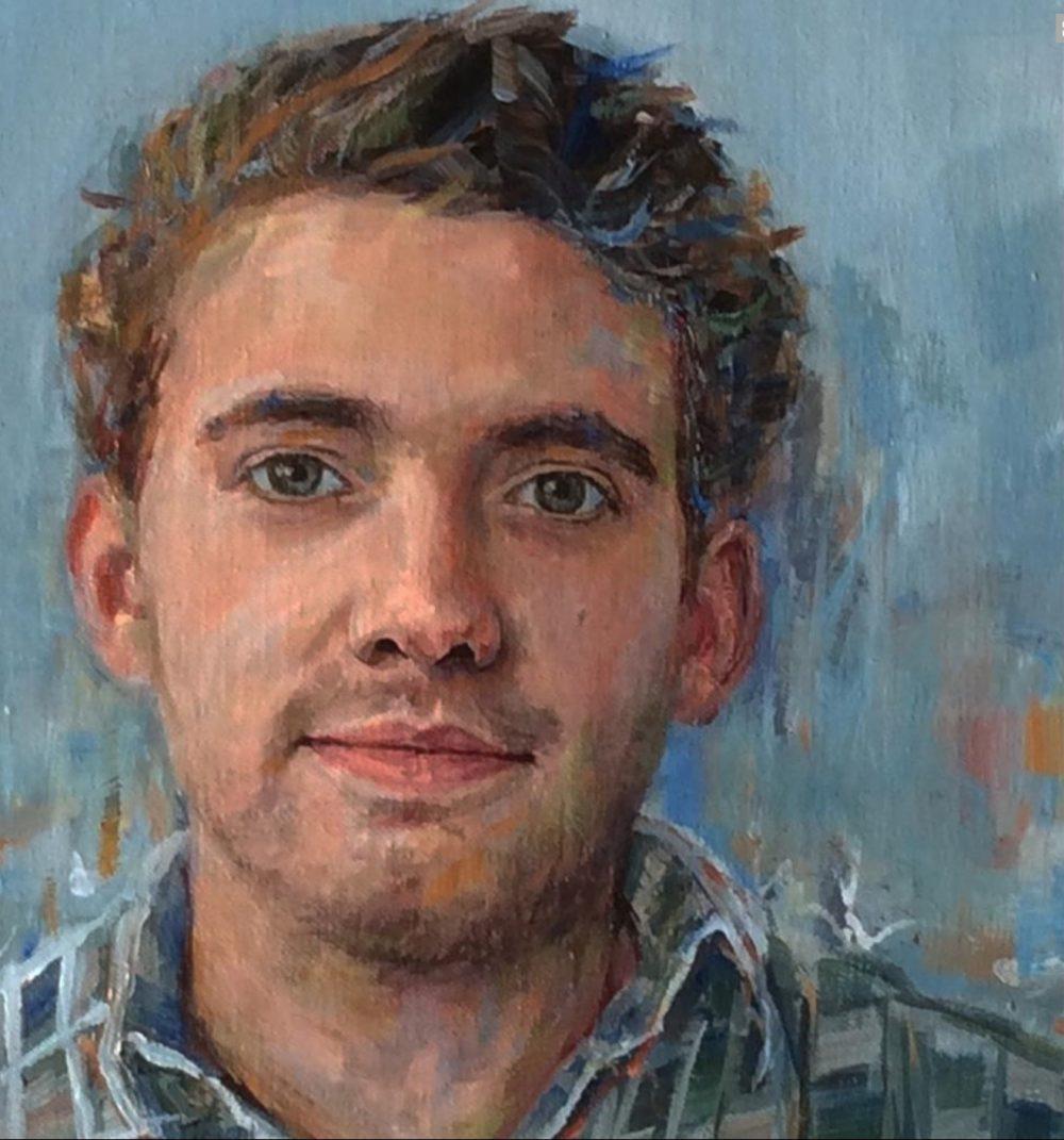 portretschilderij in olieverf