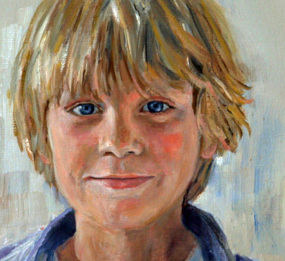 portretschilderij jongen