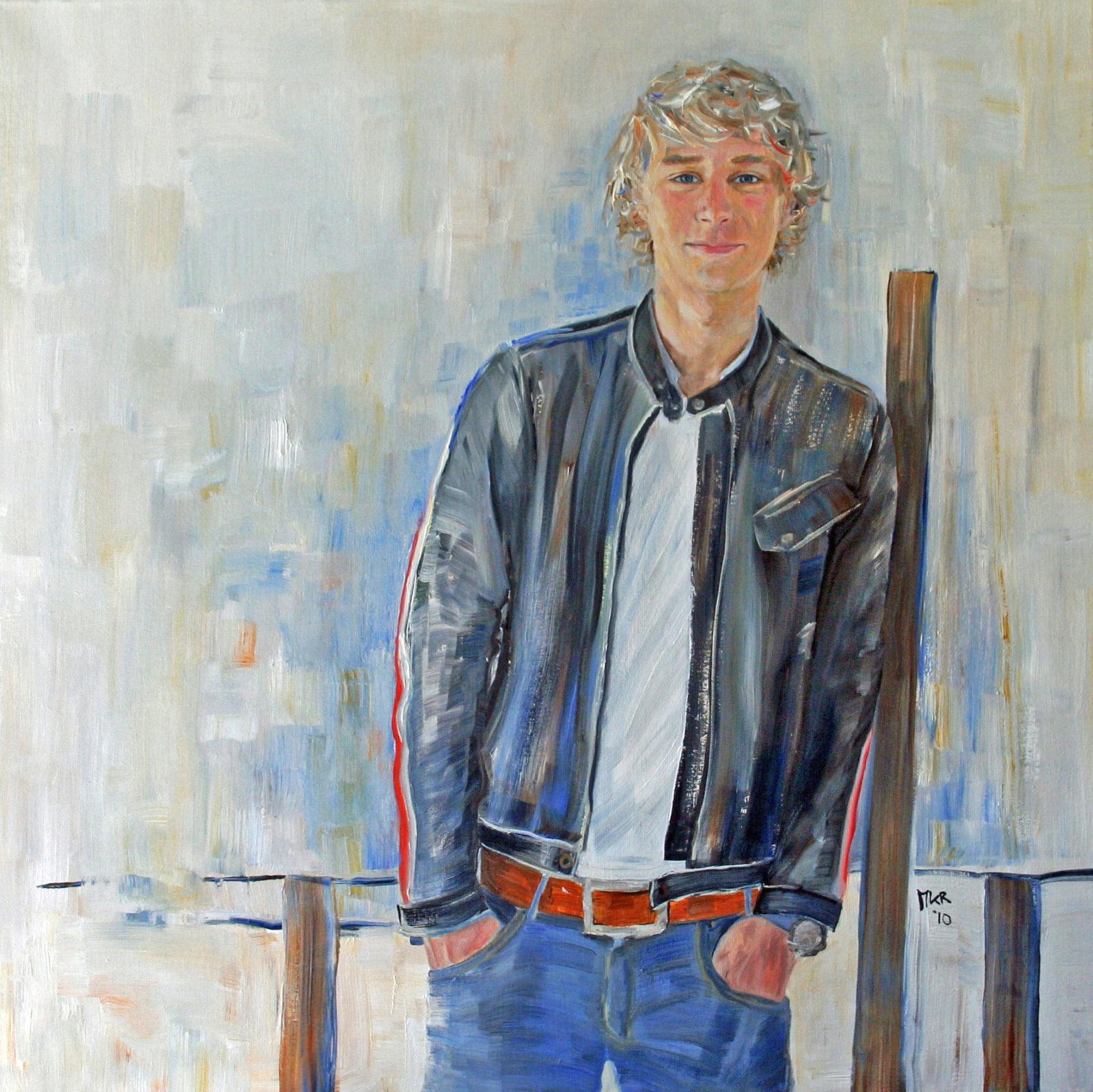 portretschilderij van Berend