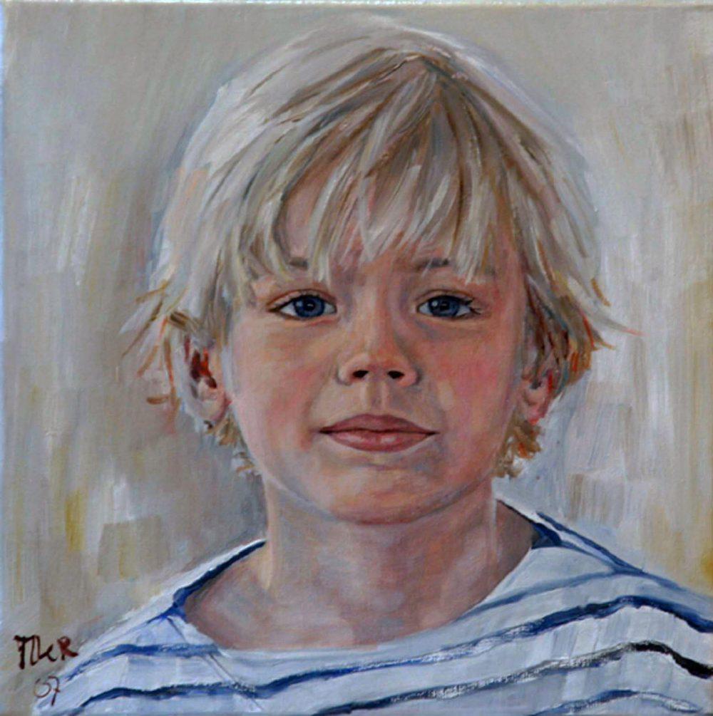 portret van jongen