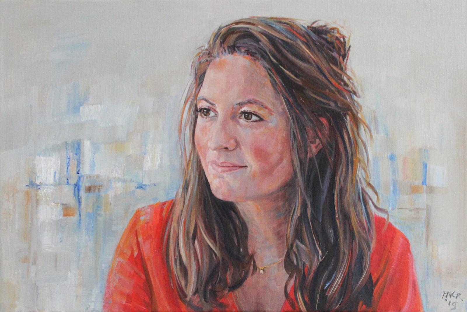 portretschilderij van Fleur