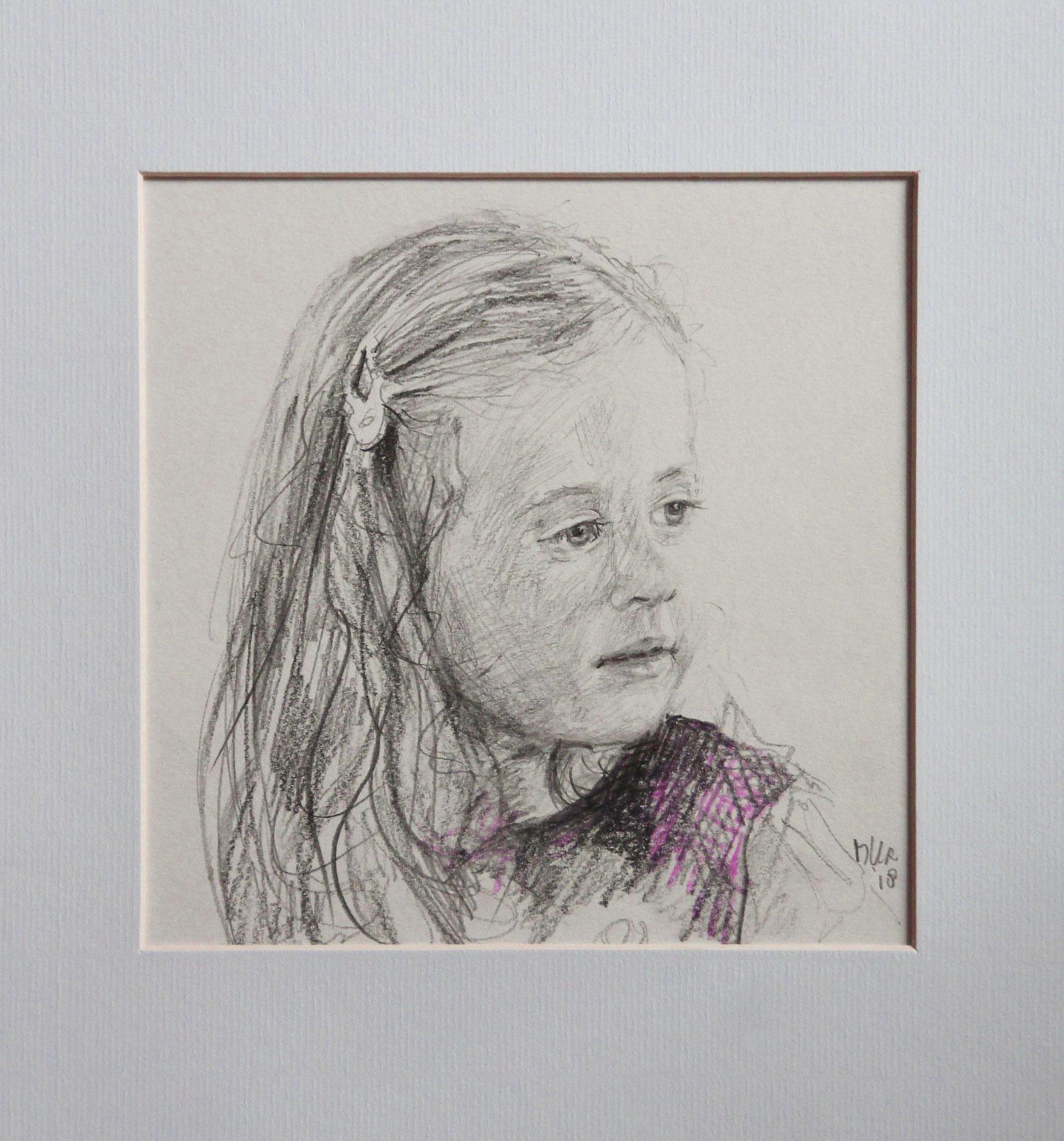 tekening van Fleur