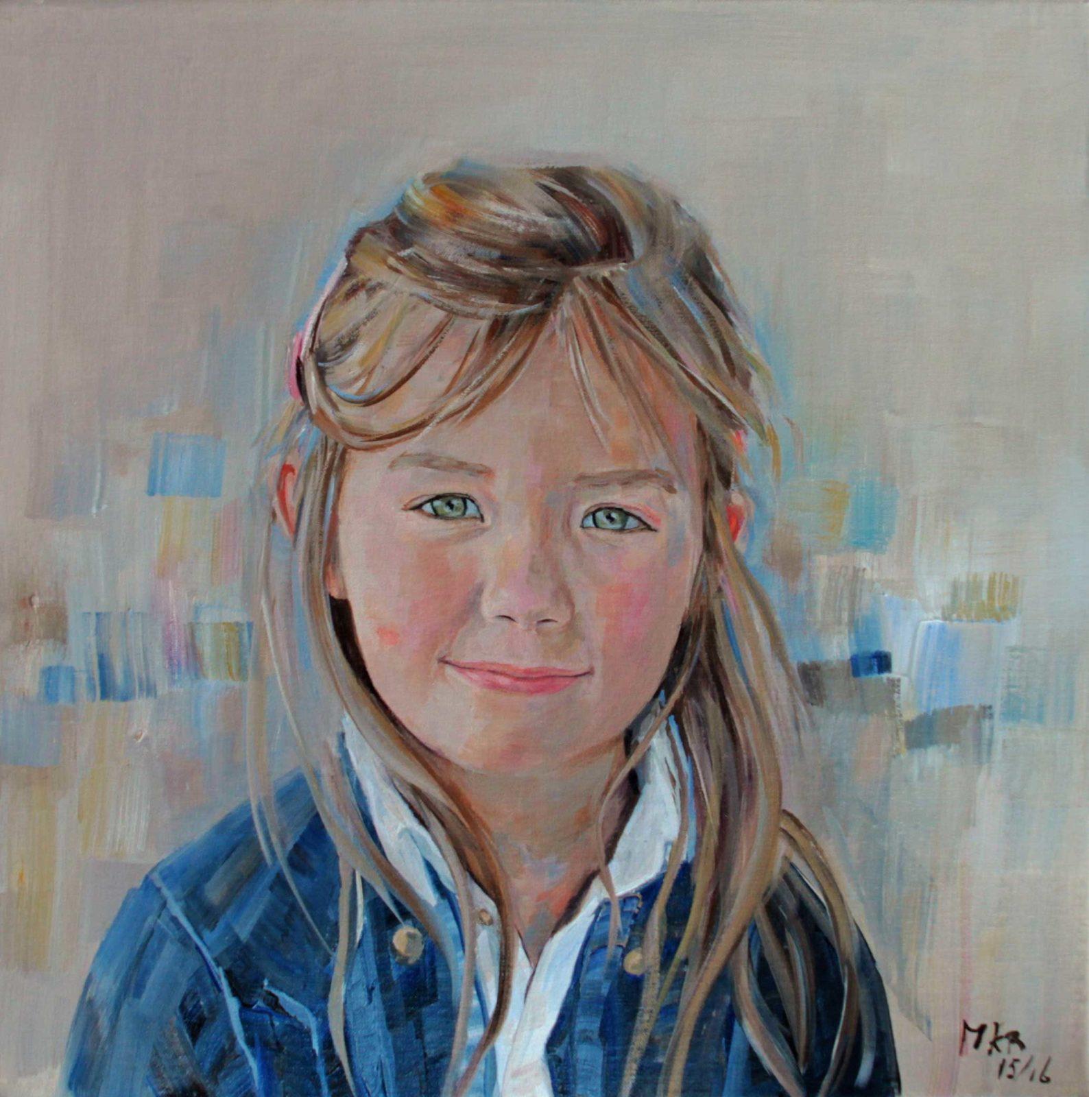 portretschilderij van Fleurine
