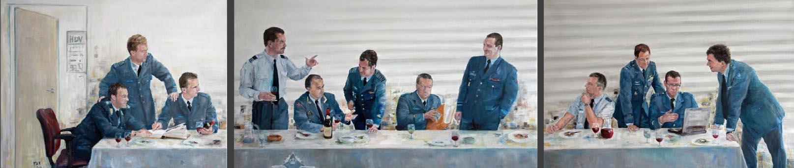 groepsportret Koninklijke Luchtmacht HSV