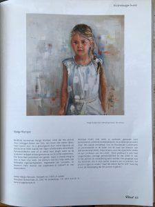 mooi artikel over portretschilder Marga Klumper