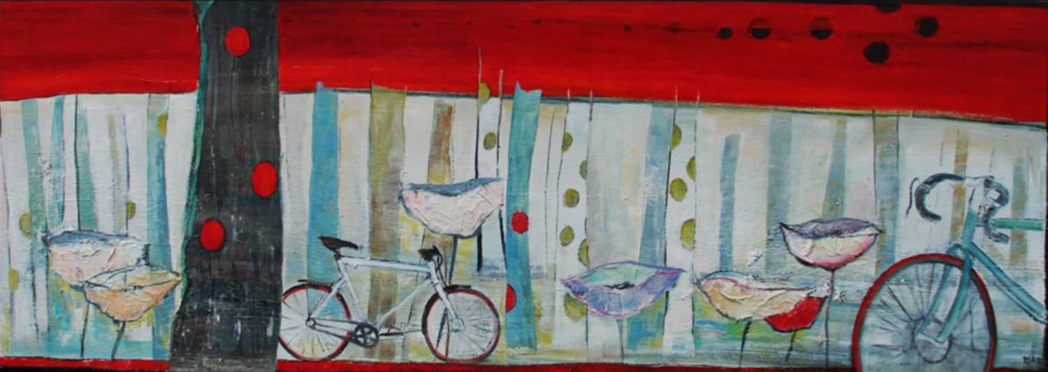Dutch Summer time, 43 x 120 cm, gelimiteerde druk in museumkwaliteit