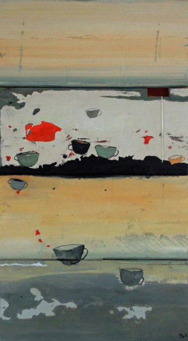 Flying cups 1, sold
