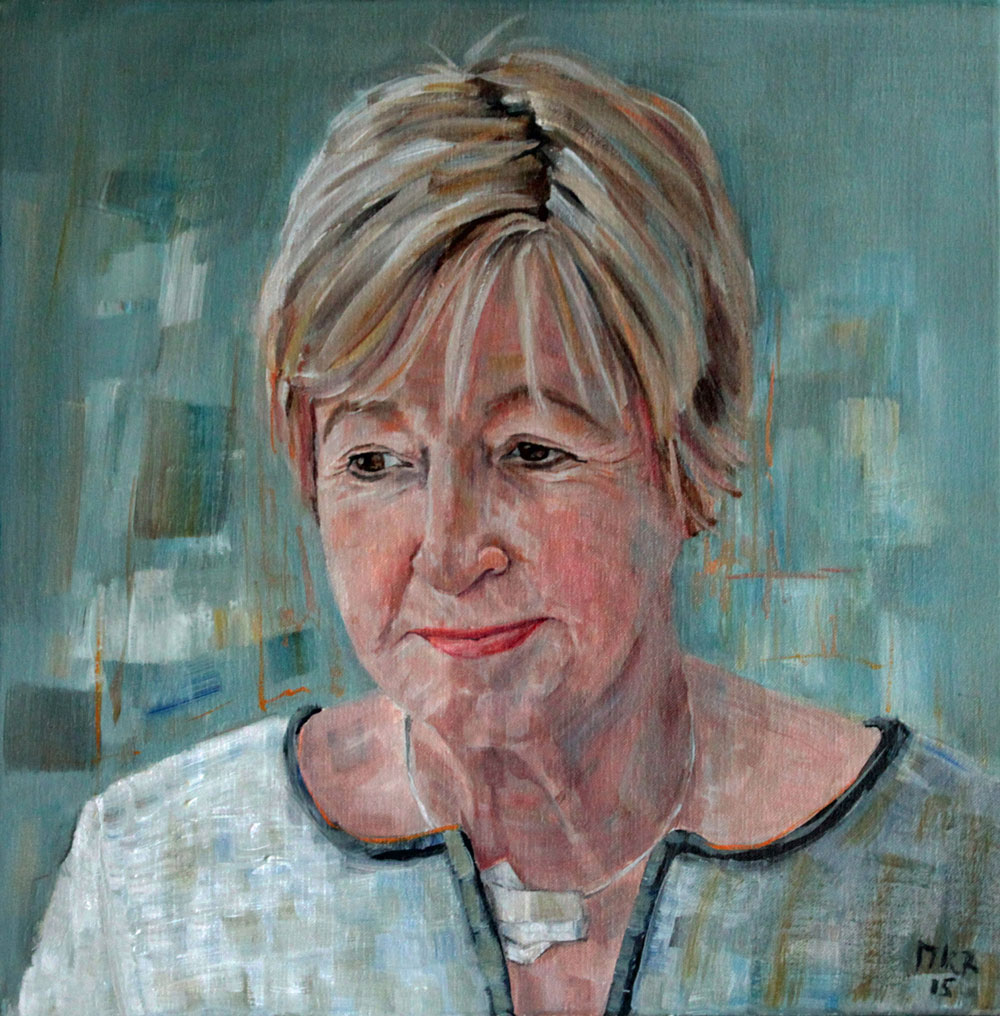portret in olieverf van Seba